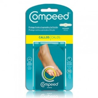 COMPEED  CALLOS MEDIANOS 10 APOSITOS