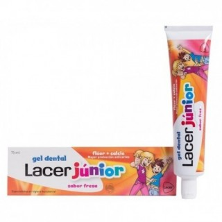 GEL DENTAL LACER JUNIOR FRESA 75 ML