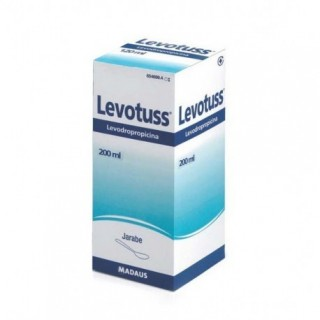 LEVOTUSS 6 mg/ml JARABE 1 FRASCO 200 ml