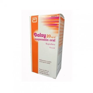 DALSY 20 mg/ml SUSPENSION ORAL 1 FRASCO 150 ml
