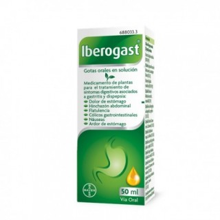 IBEROGAST GOTAS ORALES EN SOLUCION 1 FRASCO 50 ml