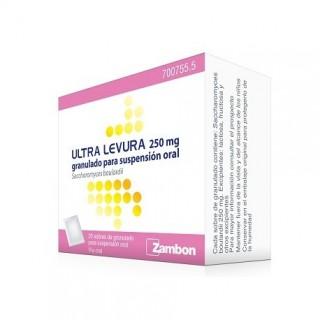 ULTRA-LEVURA 250 mg 20 SOBRES GRANULADO PARA SUSPENSION ORAL