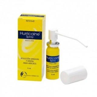 HURRICAINE SPRAY 200 mg/ml SOLUCION PARA PULVERIZACION BUCAL 1 FRASCO 5 ml