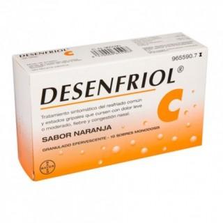 DESENFRIOL C 10 SOBRES GRANULADO EFERVESCENTE
