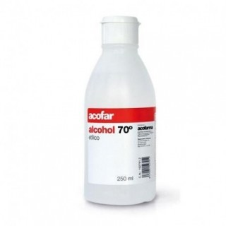 ALCOHOL 70º ACOFAR 250 ML