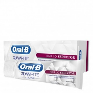 ORAL-B 3DWHITE PASTA DENTAL LUXE BRILLO SEDUCTOR 75 ML