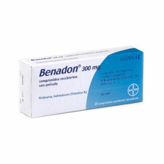 BENADON 300 mg 20 COMPRIMIDOS RECUBIERTOS