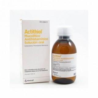 ACTITHIOL MUCOLITICO ANTIHISTAMINICO SOLUCION ORAL 200 ML