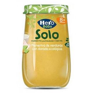 HERO BABY SOLO MENESTRA VERDURAS CON DORADA 190