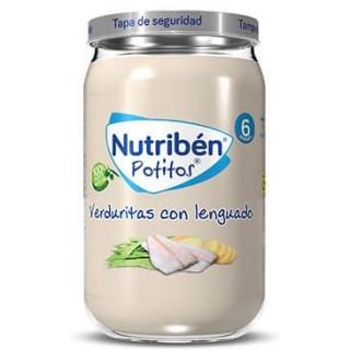 NUTRIBEN POTITO VERDURITAS CON LENGUADO 235 G