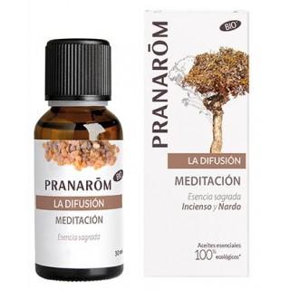PRANAROM MEZCLA DIFUSOR BIO MEDITACION ESENCIA SAGRADA 30 ML