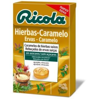 RICOLA CARAMELO HIERBAS-CARAMELO SIN AZUCAR 50 G