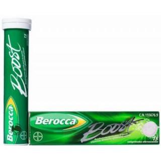 BEROCCA BOOST EFERVESCENTE 15 COMPRIMIDOS