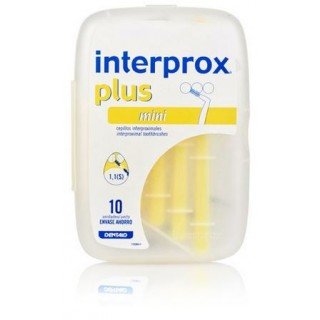 INTERPROX PLUS MINI 10 CEPILLOS