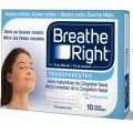 BREATHE RIGHT TRANSP GDE 10 U