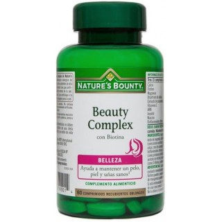 NATURES BOUNTY BEAUTY COMPLEX 60 COMRIMIDOS