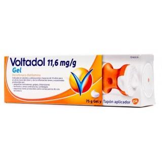 VOLTADOL 11,6 mg/g GEL CUTANEO 1 TUBO 75 g (CON TAPON APLICADOR)