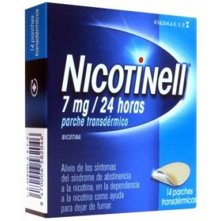 NICOTINELL 7 mg/24 h 14 PARCHES TRANSDERMICOS 17,5 mg
