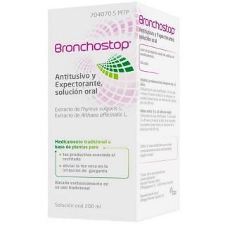 BRONCHOSTOP ANTITUSIVO Y EXPECTORANTE SOLUCION ORAL 1 FRASCO 200 ml
