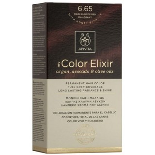 APIVITA NATURES HAIR COLOR 6.65