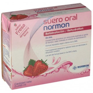 SUERO ORAL NORMON FRESA PACK 2 X 250 ML