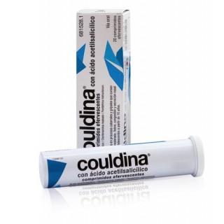 COULDINA CON ACIDO ACETILSALICILICO 500 mg/2 mg/7,5 mg 20 COMPRIMIDOS EFERVESCENTES