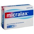 MICRALAX CITRATO/LAURIL SULFOACETATO 450 mg/ml + 45 mg/ml SOLUCION RECTAL 12 ENEMAS 5 ml