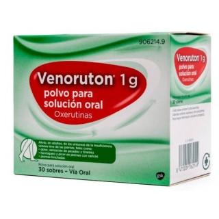 VENORUTON 1 g 30 SOBRES POLVO PARA SOLUCION ORAL