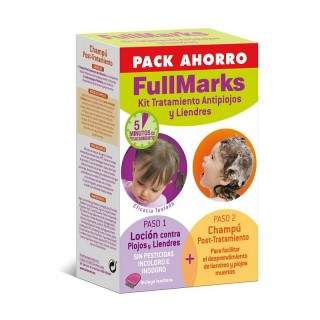 FULLMARKS ANTIPIOJOS Y LIENDRES CHAMPU 150 ML+ LOCION 100 ML