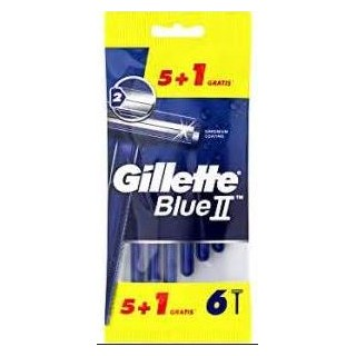 GILLETTE BLUE II 5+1