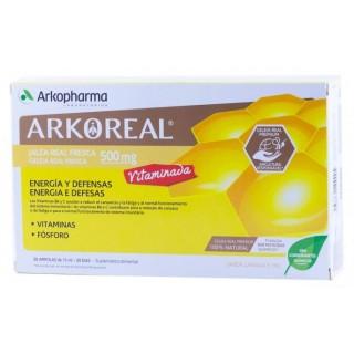 ARKOREAL JALEA REAL VITAMINADA 20 AMPOLLAS