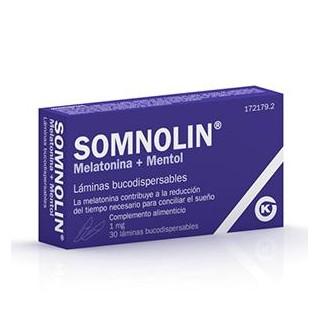 SOMNOLIN MELATONINA 1,9 MG 30 LAMINAS BUCODISPERSABLES