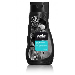 ACOFARSPORT GEL DE BAÑO 3 EN 1 300 ML
