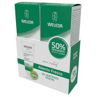 WELEDA GEL DENTIFRICO VEGETAL 75 ML DUPLO