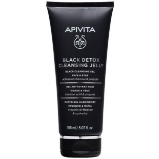 APIVITA BLACK DETOX CLEANSER 150 ML