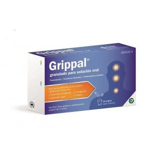 GRIPPAL CON FENILEFRINA 10 SOBRES GRANULADO PARA SOLUCION ORAL