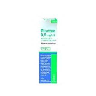 RINOTEC 0.5 MG/ML NEBULIZADOR NASAL 1 FRASCO 15 ML