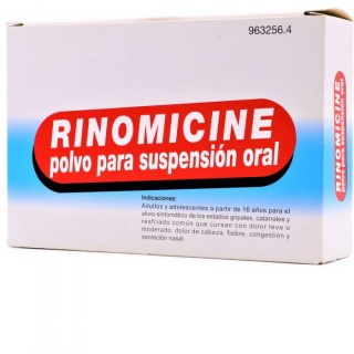 RINOMICINE 10 SOBRES POLVO PARA SUSPENSION ORAL