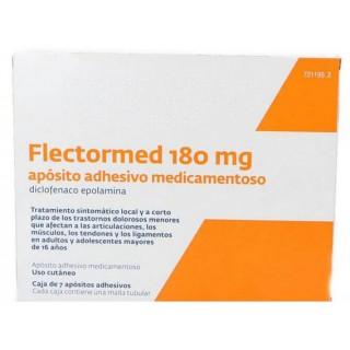 FLECTORMED 180 mg 7 APOSITOS ADHESIVOS MEDICAMENTOSOS
