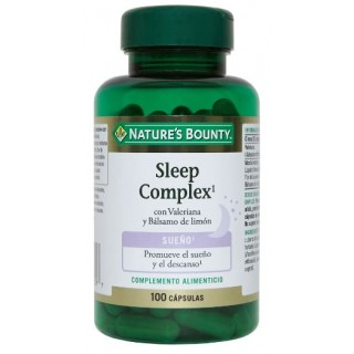 NATURES BOUNTY SLEEP COMPLEX 100 CAPSULAS