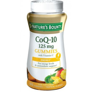 NATURES BOUNTY COQ-10 125MG 60 GOMINOLAS