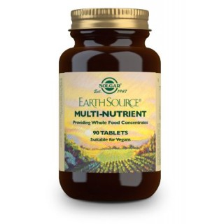 SOLGAR EARTH SOURCE (MULTIVITAMINICO Y MINERAL) 90 COMPRIMIDOS
