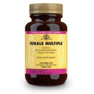 SOLGAR FEMALE MULTIPLE (COMPLEJO PARA LA MUJER) 120 COMPRIMIDOS