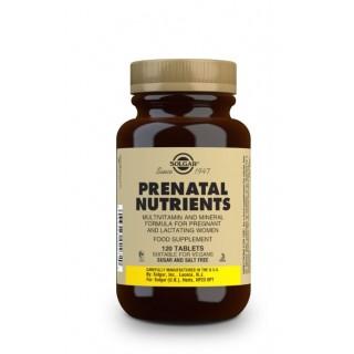SOLGAR NUTRIENTES PRENATALES 120 COMPRIMIDOS