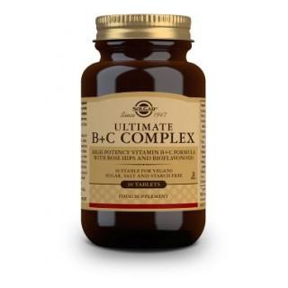 SOLGAR ULTIMATE B+C COMPLEX 30 COMPRIMIDOS