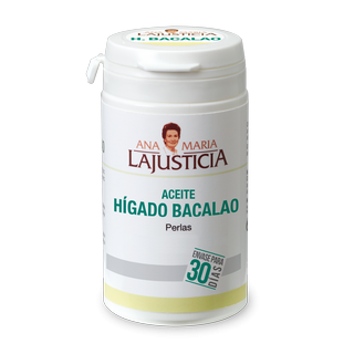 ACEITE DE HIGADO DE BACALAO ANA MARIA LAJUSTICIA 90 CAPSULAS