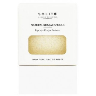 SOLITO ESPONJA FACIAL KONJAC NATURAL