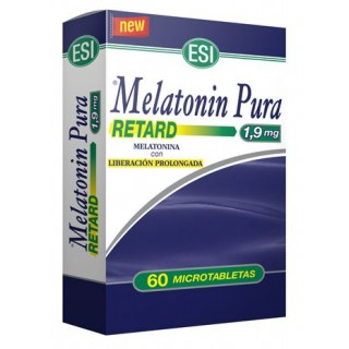 MELATONIN RETARD PURA 1,90 MG 60 MICROTABLETAS