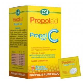 PROPOL C 1000 MG 20 TABLETAS EFERVESCENTES