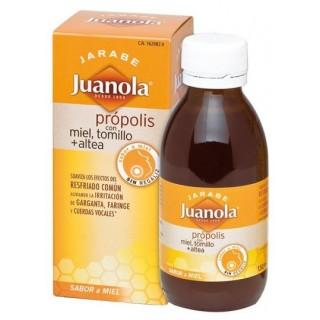 JUANOLA PROPOLIS JARABE CON MIEL TOMILLO Y ALTEA 150 ML